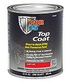 POR-15 46104 Safety Red Top Coat - 1 quart