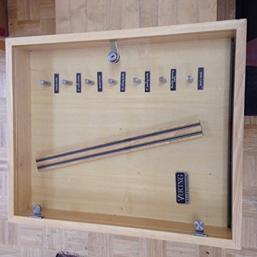 Viking Knife Display Case with Lock and Magnetic Strip by Viking