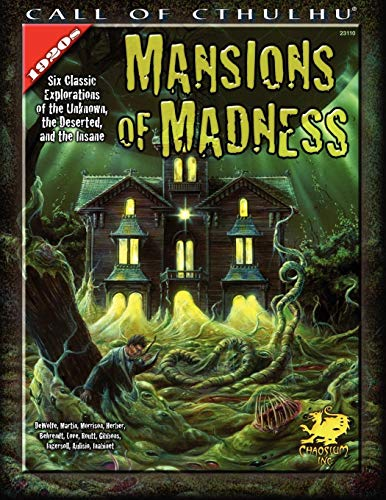 Mansions of Madness (Call of Cthulhu Horror Roleplaying, 1920s Era) Call Of Cthulhu Rpg Adventures