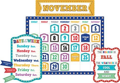 Teacher Created Resources Marquee Calendar Bulletin Board