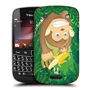 Head Case Designs Monkey Toon Animals Protective Snap-on Hard Back Case Cover for BlackBerry Bold Touch 9900