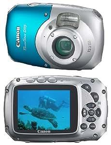 Canon PowerShot D10 - Cámara Digital Compacta, 12.1 MP (2.5 pulgadas, 3x Zoom óptico)