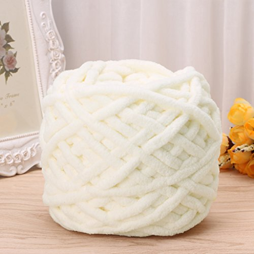 Susada 100g/1ball Hand Knitting Yarn Soft Cotton Chunky Woven Bulky Crochet Worested (01)
