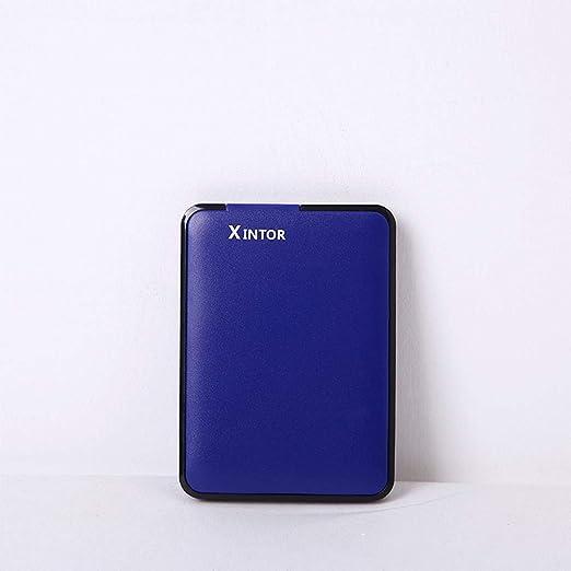 Shenghe 外付けハードドライブ2.5インチ高速USB 3.0ハードディスクラップトップデスクトップ用超薄型モバイルHDD 青 1TB