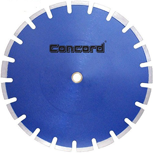 Concord Blades LAS140C10HP 14 Inch Laser Welded Asphalt Diamond Blade with Undercut (0.125' Tool)