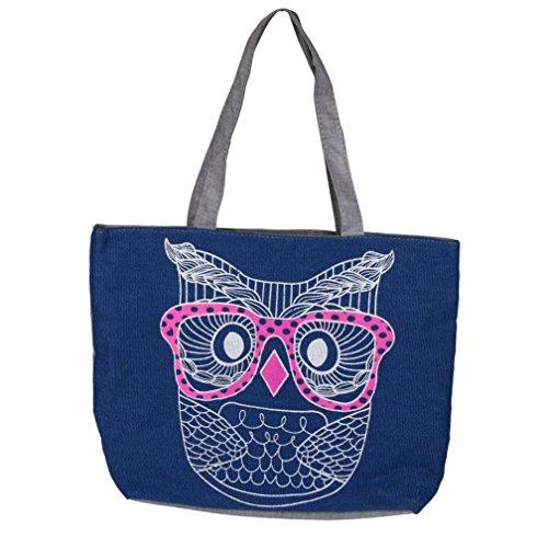 Mode Priting Amlaiwolrd Sac Lady Sac Owl Femmes de TWqtSP