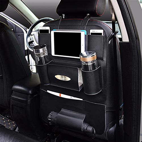 Storage Bags - Car Seat Back Auto Multi Pocket Pu Leather Vehicle Storage Holder Rack Classic Shelf Tissue File - Lock Mattress Books Disposable King Disney Comforter Hold Wrangler Freezer Comf