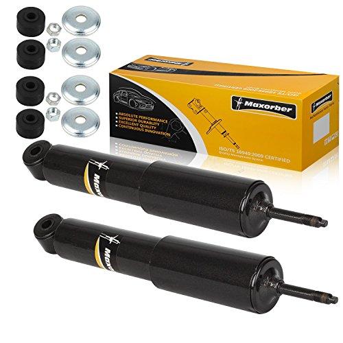 Maxorber Front Pair Set Shocks Struts Absorber Compatible with Nissan Frontier 3.3L V6 RWD 2000 2001 2002 2003 2004 Shock Absorber 344469 32206 5611001G27, 561101Z625 ()