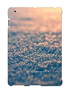 Winter Snow Macro Depth Of Field Case Compatible With Ipad 2/3/4/ Hot Protection Case(best Gift Choice For Lovers)