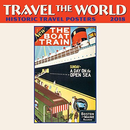 Travel the World Mini Wall Calendar 2018