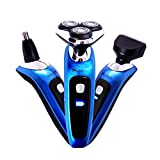 Surker Professional Traver&Home Beard/Nose Hair/Mane 3 in 1 Multifunction Eletric Men Shaver