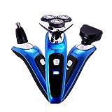 Surker Professional Traver&Home Beard/Nose Hair/Mane 3 in 1 Multifunction Eletric Men Shaver