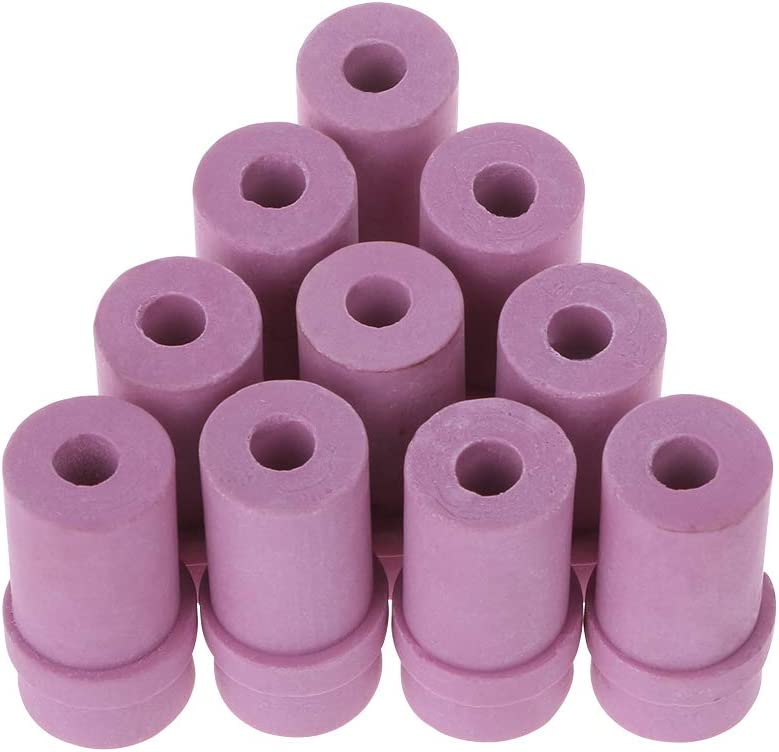 Keramikd/üse 5mm 6mm Luftstrahld/üse PINH-lang Airbrush-Zubeh/ör,10pcs Sandstrahld/üse