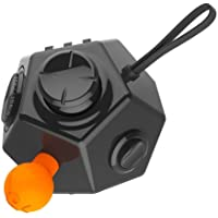 Fidget Cube 12 Side Sided Desk Toy Strss Anxiety Relief Focus Puzzle Adult,Relieves Stress & Anxiety,Anti-anxiety Depression Toy for Children,Students,Adults