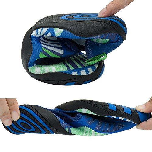 Recrec Blootsvoets Waterschoenen Dynamic-fit Instant-dry W / Free Sackpack Voor Heren, Dames En Kinderen Waterschoenen Marine Blauw