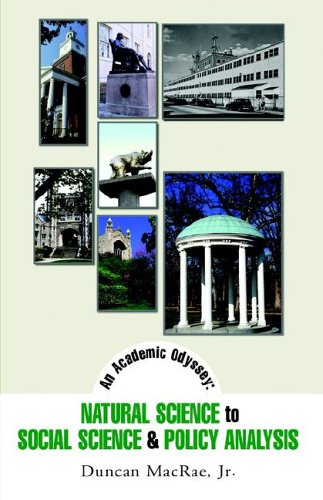 An Academic Odyssey: Natural Science to Social Science & Policy Analysis PDF