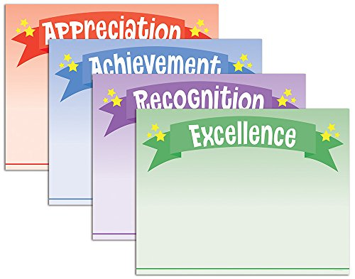 """Great Papers Star Banner Certificate Assortment, 8.5"""" x 1..."""