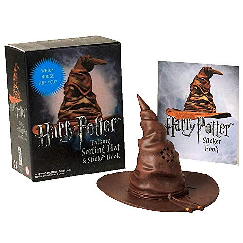 (Talking Sorting Hat and Sticker Book Harry Potter Deluxe Mega Kit Miniature Editions)