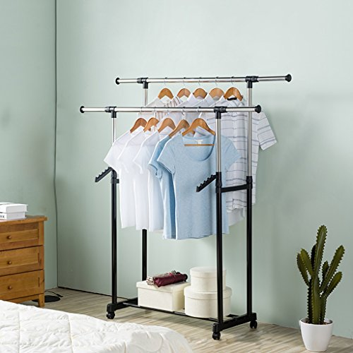 Heavy Duty Clothing Garment Rack Commercial Grade Clothes Ra