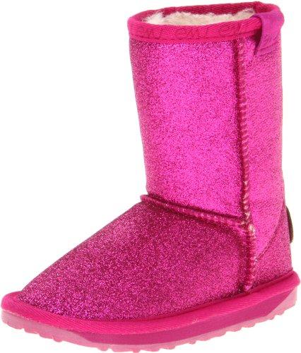 EMU Australia Sparkle Boot (Infant/Toddler/Little Kid/Big Kid),Hot Pink,3 M US Little Kid