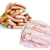 [スターゼン] ベーコン ウインナー セット 訳あり 2kg 大容量 お買い得 わけあり お肉 豚肉 冷凍