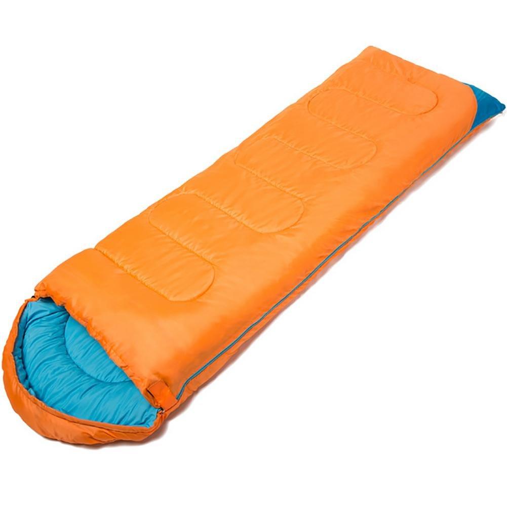 MIAO Sacos de dormir/Bolsos de dormir calientes del sobre del otoño y del invierno de interior/al aire libre , orange: Amazon.es: Deportes y aire libre