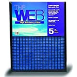 High Efficiency Air Filter Size: 36 H x 14 W x 1 D by WEB Products