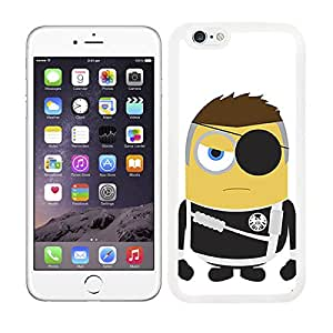 FUNDA CARCASA TPU GEL PARA IPHONE 6 PLUS DISEÑO MINION ABRAZO