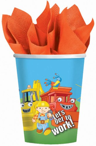 bob-the-builder-8-oz-paper-cups-party-accessory-8-pack