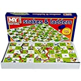 New Traditional Snakes &Ladders Childrens Kids Family Board Games Draughts Ludo
