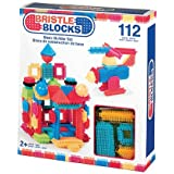 Bristle Blocks BA3091Z - Jeu de Construction 1er âge - Blocs de Construction 112 Pièces