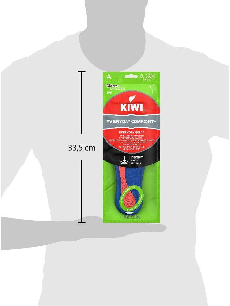 1 Paio Taglia 36-41 EU Kiwi Solette Gel Everyday per Uso Quotidiano Donna