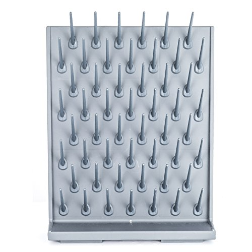 - VEVOR Drying Rack Laboratory Glassware Drying Rack Wall Mount and Desk Stand 52 Detachable PEGs Lab Drying Draining Rack