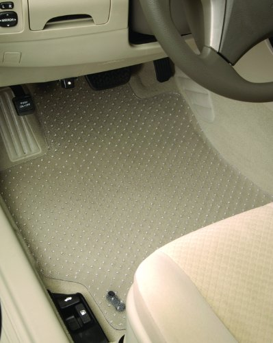 Intro-Tech Protect-A-Mat Front Row Custom Floor Mats for Select Infiniti M37/M56 Models - Vinyl (Clear)