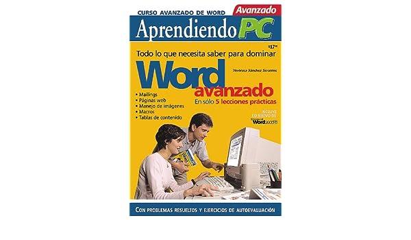 Curso Avanzado de MS-Word97 y 2000 en Español / Spanish: Veronica Sanchez Serantes, MP Ediciones: 9789875260122: Amazon.com: Books