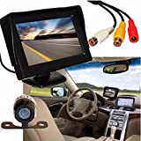 Bolayu 4.3'' TFT LCD Car Rear View Backup Camera Monitor Parking Night Vision Review