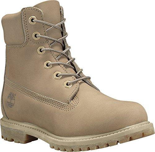 "Timberland 6"" Premium Damen Stiefel Boot Waterproof Natur EU 38"