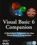 Visual Basics 6 Companion, Brian Siler and Jeff Potts, 0789718758
