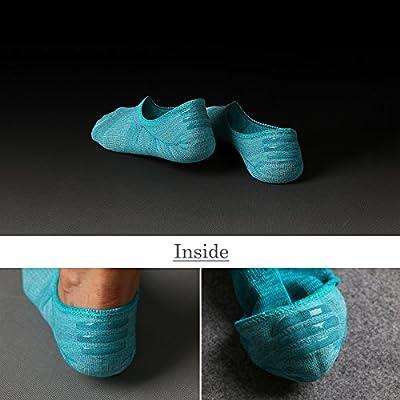 IDEGG Women's and Men's Socks 10 Pairs Low Cut Anti-Slid Athletic Casual Cotton Socks