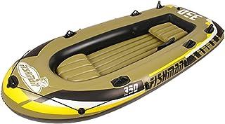 NUOAO Botes inflables Remo Set de Barco Hinchable y remos 2/3/4 Asientos, A