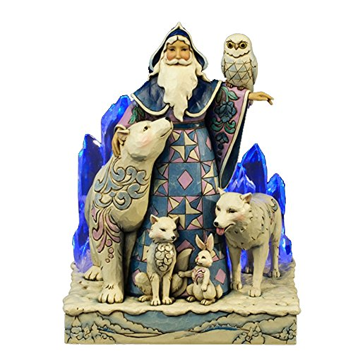 Jim Shore for Enesco Heartwood Creek Winter Santa Masterpiece Figurine, 9.75-Inch by Jim Shore for Enesco