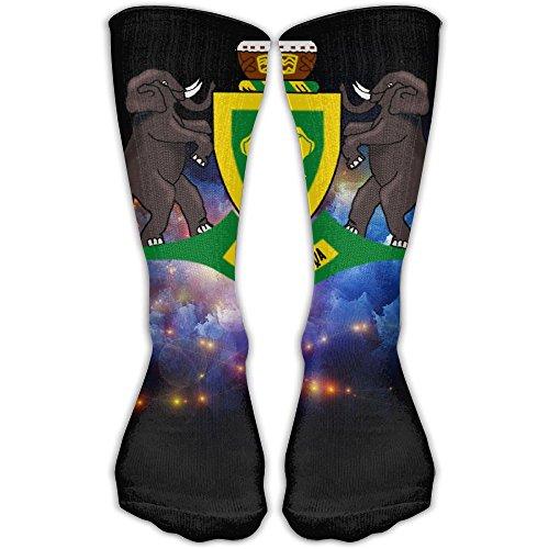 Design Coat Of Arms Of The Republic Of Venda Novelty Art Knee High Socks For Women &Girl by Sockaiab (Image #1)