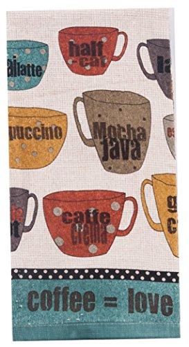 Kay Dee Designs R3260 Good Coffee Terry Towel