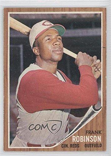 Frank Robinson (Baseball Card) 1962 Topps - [Base] - Robinson Baseball Frank Topps