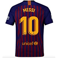 a0d50fca06b Barcelona  10 Messi Home Mens Soccer Jersey 2018-2019 New Season Color Red