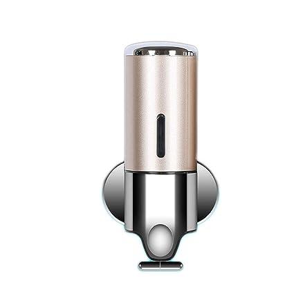 Dispensador de jabón de Pared Botella de jabón Manual de plástico Sistema de distribución de líquido