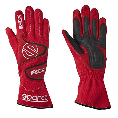 Sparco 0025610NR Tide K-9H Black Size-10 Karting Gloves (Sparco Tide Racing Gloves)