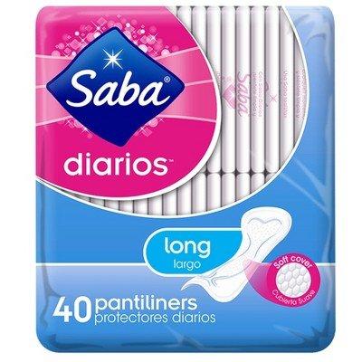 Saba Long Pantliners - 40ct WHITE by SABA