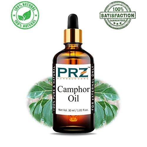 PRZ Camphor Essential Oil – Pure Natural Therapeutic Grade Oil Therapeutic Grade Oil for Skin Care & Hair Care, 30 ml
