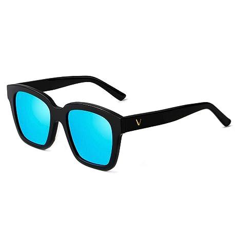 ZCF Nueva Personalidad Hipster Caja V Gafas de Sol Gafas de ...
